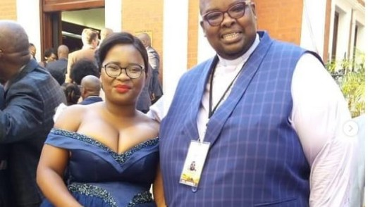Pastor Nkomfa Mkabile's wife