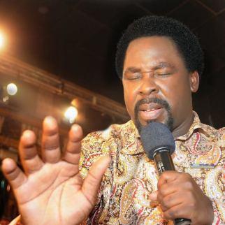 TB Joshua prayer