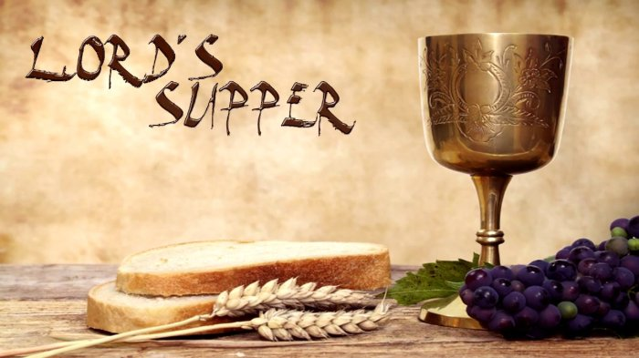 Lords Supper 2