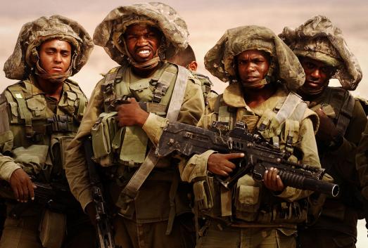 ethiopen israeli soldiers