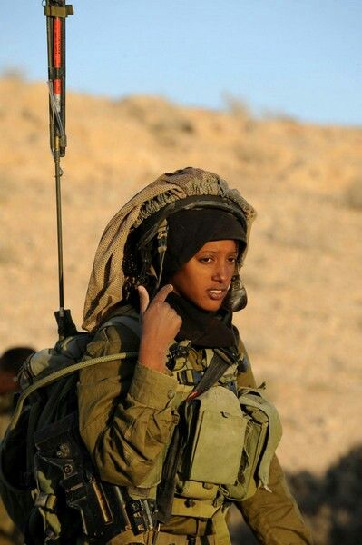 ethiopian female soldier