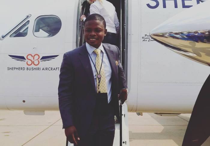 Bushiris plane
