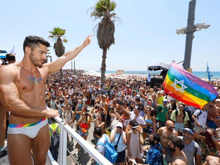 Gay Pride Parade, Tel Aviv 2019